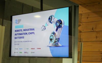Високотехнологичната индустрия бе представена на Robotics Strategy Forum 2021